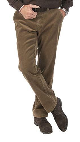 Michaelax-Fashion-Trade Club of Comfort - Herren Stretchcord Hose, Derry (5810), Größe:52, Farbe:Beige (32)