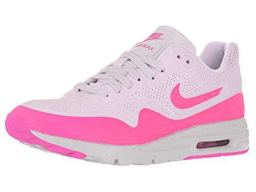 Nike Damen Air Max 1 Ultra Moire Laufschuhe, Weiß (Weiß/Bleached Lila/Pink Blast), 37.5 EU