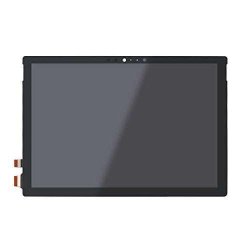 FTDLCD - Pantalla táctil LCD digitalizadora SP5 para Microsoft Surface Pro 4 1724 (incluye cable para resolver el problema del parpadeo)