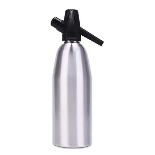 Minimei Sifón de Agua de Soda Dispositivo de fabricación de Agua de Soda de Aluminio 1000mL Máquina de Soda Manual Advantage