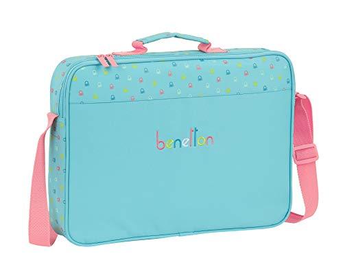 Safta 612075385 Maletín cartera extraescolares Benetton