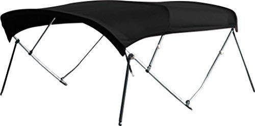 Best Price CONVERTEX Sunbrella Bimini Top Boat Cover 7/8 Inch Aluminum Frame 4 Bows, 8' Length, 54 ...