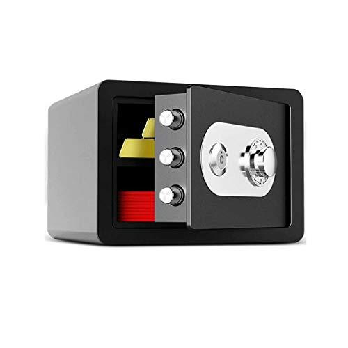 swqiy GYDSSH Household Safe – Secure Metal Safe For Storing Goods, Valuables, Passports, Keys, Money, Jewellery – Lock