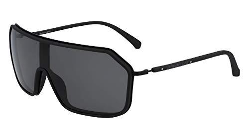 CALVIN KLEIN JEANS EYEWEAR Unisex-Adult CKJ19307S Sunglasses, Black, 6508