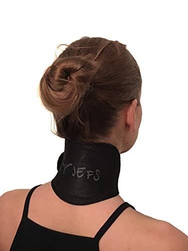 Nackenstütze, selbstwärmende Magnete, natürliche Heilung, chronische Schmerzen, Kopfschmerzen (schwarz)