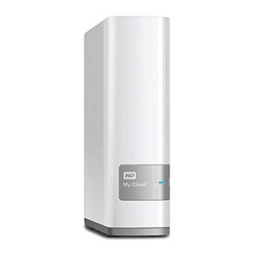 Western Digital 4TB My Cloud persönliche Cloud NAS Festplatte - LAN - WDBCTL0040HWT-EESN