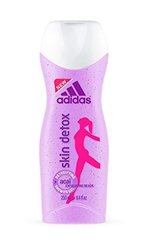 Adidas Skin Detox Douchegel voor dames – intensieve reinigende douchegel voor een zachte, gladde huid – met peeling-effect – pH-huidvriendelijk – 1 x 250 ml