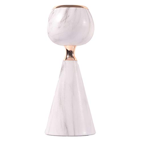 lahomia Retro Candlestick Pillar Candle Holder Tealight Holder Table Setting - A