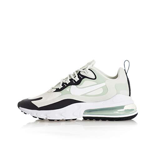 Nike W Air MAX 270 React, Zapatillas para Correr para Mujer, Multicolore Spruce Aura White Pistachio Frost Black, 40 EU
