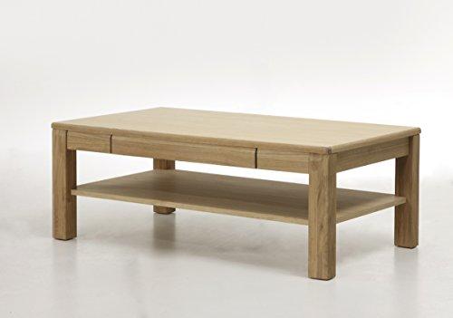 Robas Lund SENA Couch-/Wohnzimmertisch, Eiche, ca. 115 x 42 x 65 cm, eiche bianco
