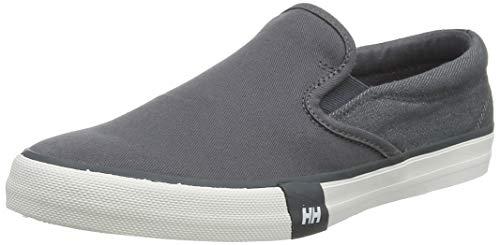 Helly Hansen Copenhagen Slip-on, Zapatillas sin Cordones para Hombre, Gris (Ebony/Off White 980), 47 EU