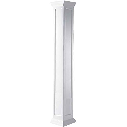 Ekena Millwork CC0604ENMCRCR Column, White