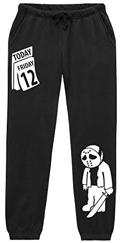 uglyshirt89 Friday 12 Jogginghose | Fun | Jason | Horror | Saw | Freddy | Psycho | (S)