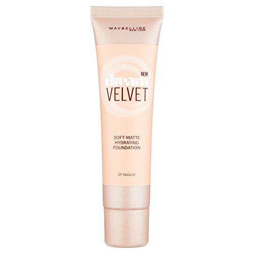 Maybelline Dream Velvet Soft-Matte Hydrating Foundation (01 Natural) 30ml