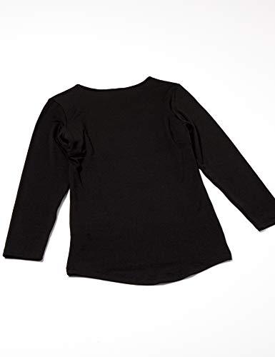 [セシール]インナーシャツスマートヒート汗取りパッド付き8分袖衿元あったかUE-1299レディースセットBLL