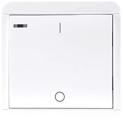 Pilota Casa - Interruptor de pared con temporizador (15/60/180/300 segundos)
