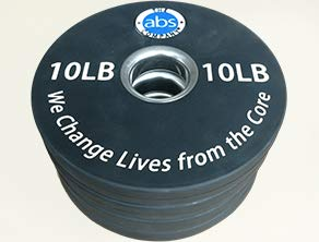 The Abs Company 10lb Olympic Weight Plates Set Of 4