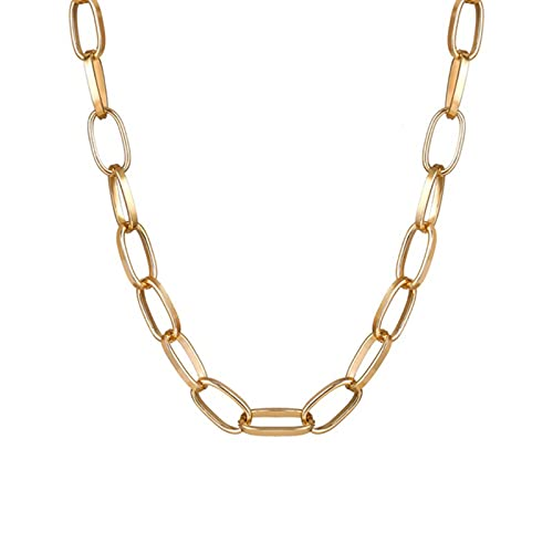 TTGE Vintage Multi-Layer Coin Chain Choker Necklace For Women Gold Silver Color Fashion Portrait Chunky Chain Necklaces Jewelry