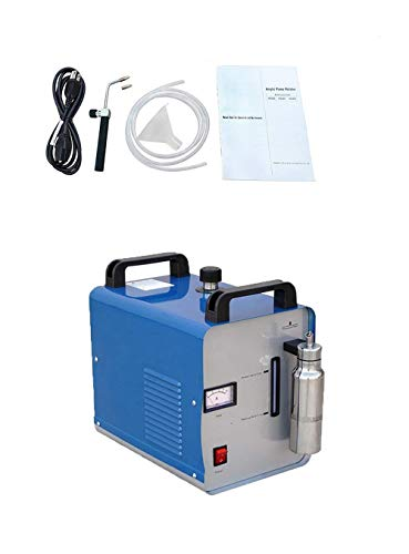 Review Hydrogen Flame Polishing Machine 75L/H Portable Oxygen Hydrogen Flame Generator Acrylic Polis...