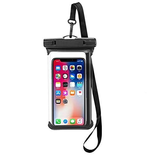 Lewpox Caja de teléfono móvil a Prueba de Agua, Caja de teléfono móvil, IPX8 Cubierta de protección contra el Agua Cubierta de Polvo, para Apple iPhone Pro XS XS