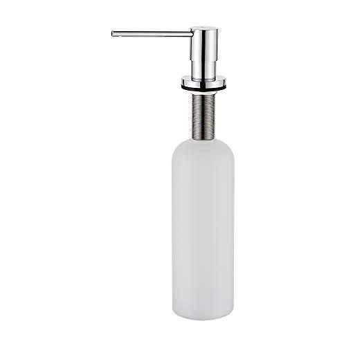 Ibergrif, Dispensador de Jabón Líquido, Detergente de Cocina Incorporado (M34031)