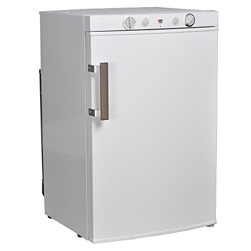 SMAD 3-Way Propane Refrigerator RV with Electric/Gas Thermostat and Flame Indicator