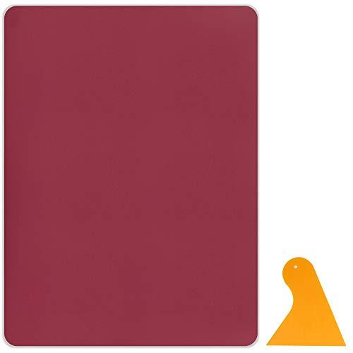 Sayopin Kit Patch in Pelle 1 Pezzi di Riparazione Patch Adesivo Kit di Riparazione Autoadesiva in Pelle, Vinile E Ecopelle Sofà di Cuoio Che Ripara per I Posti di Automobile Rivestimento Sofà Divano