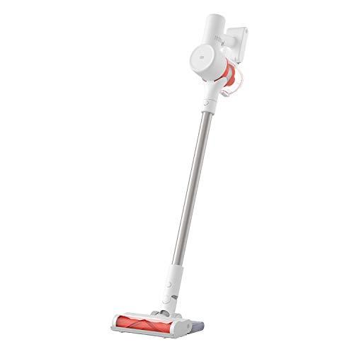 Xiaomi Mi Vacuum Cleaner G10, kabelloser Elektrobesen, Saugleistung mit 150 AW, Bildschirm mit Echtzeit-Informationen, automatische Anpassung an die Bodenart, bis zu 65 Minuten Laufzeit