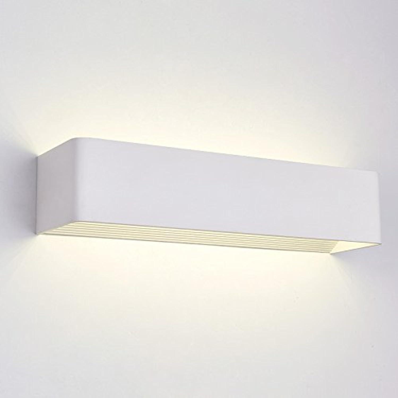 YU-K Moderne Wandleuchte LED aluminium Wandleuchte ideal für Bar Restaurant Cafe Wohnzimmer Schlafzimmer Flur Balkon, 53 cm, 15 W neutralen Licht