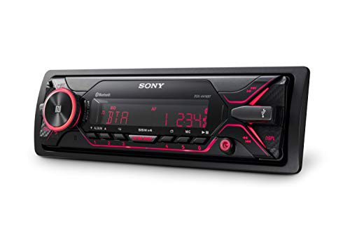 Sony DSX-A416BT - Autoradio multimédia avec technologie Bluetooth Dual (4 x 55 W, Commandes vocales...