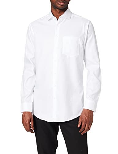 Seidensticker Regular Fit Langarm Structure Camisa para Hombre