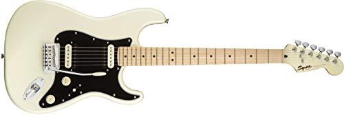 Guitarra eléctrica Squier by Fender Stratocaster HH - Diapasón de arce - Blanco perla