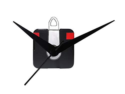 IIK Collection Plastic Quartz Movement Machine Kit for Wall Clock (Black)