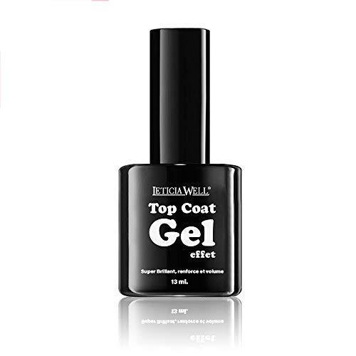 Vernis à ongles Top Coat Gel effet 3D SANS lampe UV ou Led 123 Cosmé