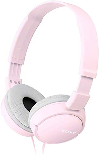 Sony MDR-ZX110 Cuffie On-Ear, Rosa