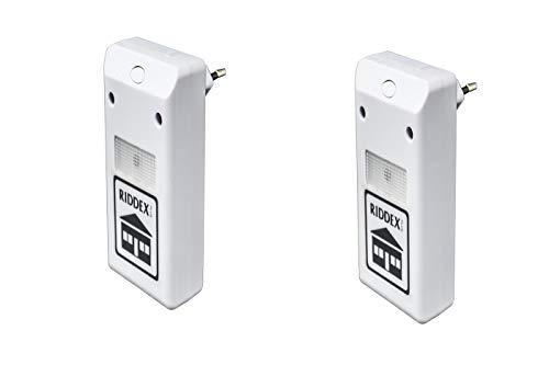 Oferta 2 x 1-el original Riddex Plus-Ahuyentador electrónico electromagnético con ultrasonidos.