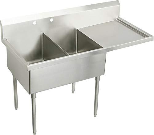 Check Out This Elkay WNSF8254ROF2 Commercial Sink, Lustrous Satin Finish