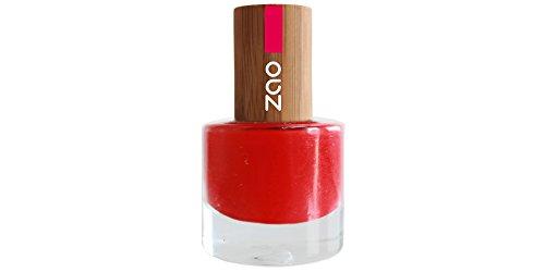 Zao - Smalto per unghie di bambù - No. 650 / Classic Red - 8 ml