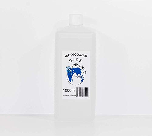 online-hut Isopropanol/Isopropylalkohol Klar 99,9% 1000 ml