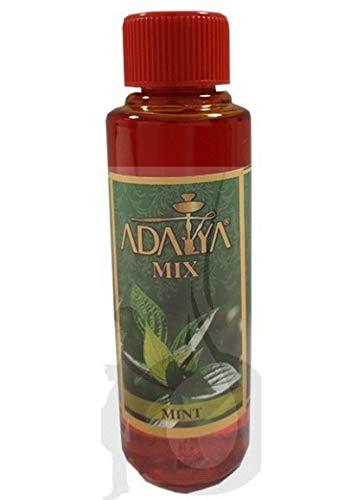 Melaza Adalya Mint para shisha SIN NICOTINA - Sabor: Menta (170 ml) - Sustitutivo de tabaco sin nicotina para cachimba