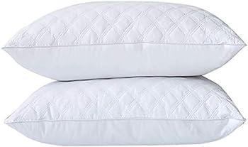 Set of 2 Premium Down Luxury Adjustable Loft Pillow