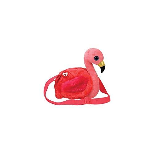 TY Gilda Flamingo Shoulder Bag
