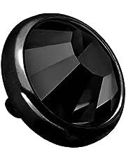 PIERCINGLINE Disco de anclaje dérmico de titanio y cristal