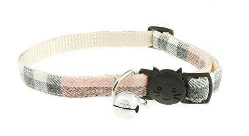 Collar de campana ajustable de seguridad para gato con dise�
