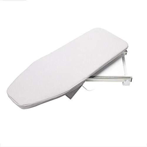 YANGLIYU Tabla de Planchar Guardarropa Hogar Armario Plegable Armario Tabla de Planchar Tabla de Planchar Oculta Beige Blanco