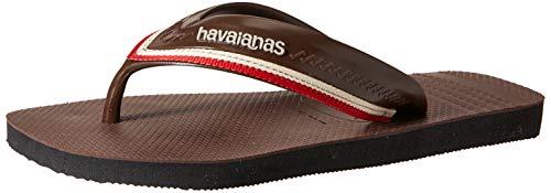Havaianas New Hybrid Free, Chanclas Hombre, Black, 39/40