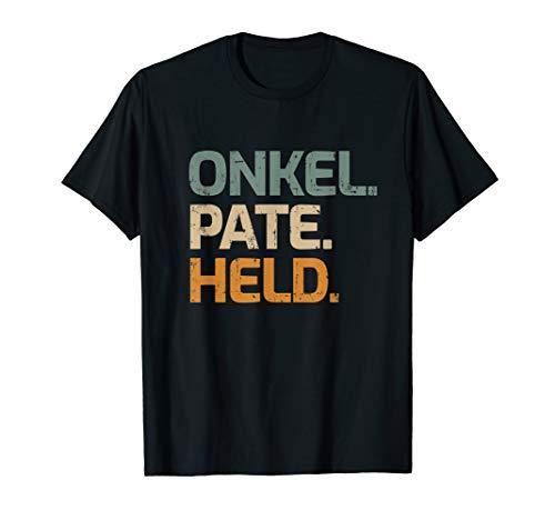 Herren Onkel Pate Held Geschenk für Taufpate Patenonkel T-Shirt