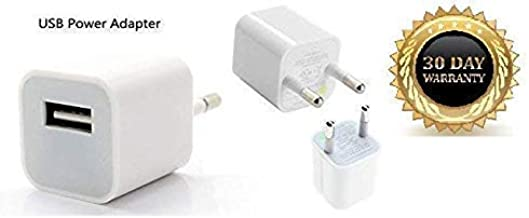 Mapzi Universal Fast Charging Power Adapter Compatible for All iPhone 5/5S/6/6S/7/7Plus/8/8 Plus (White) Adapter