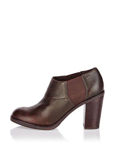 Geox Zapatos Abotinados D Glimmer Marrón