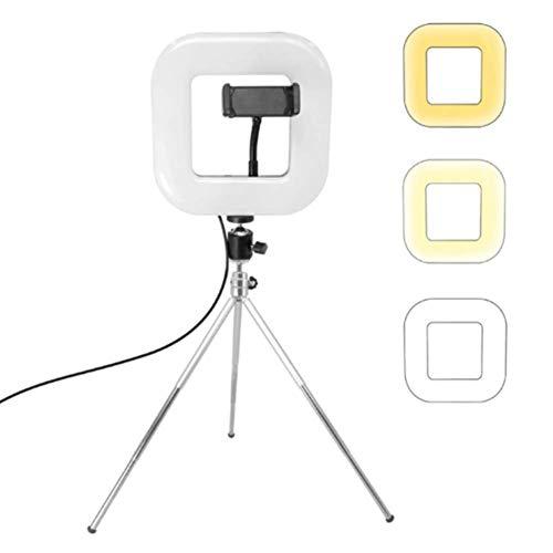 Ringlicht, ringlamp, selfie-ringlamp, statief met live licht voor mooie foto's of videosnelingen, live streaming, portret